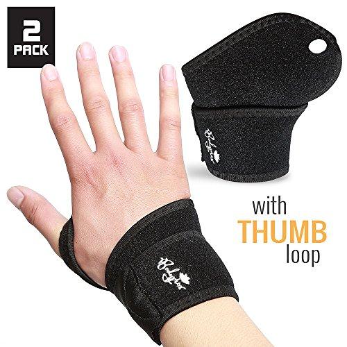 Wrist Support Brace 2 Pack