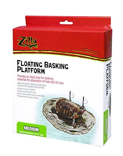 Zilla Reptile Habitat Décor Floating Basking Platform, Medium by Zilla