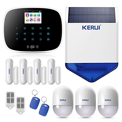 KERUI G19 Wireless Wired GSM SMS RFID Home Burglar Security Alarm System...