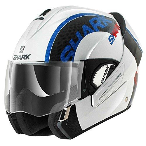 Shark Evoline Series3 Drop Helmet-Blue-Red-Black-White-M