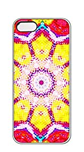 NBcase Flowery Ice Cream hard PC iphone 5 case for girls 2d