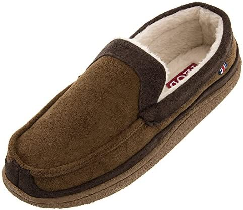 IZOD Classic Two Tone Moccasin Slippers product image