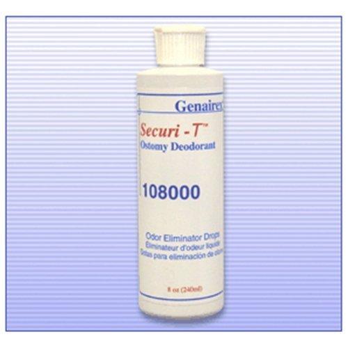 Genairex Securi-T Ostomy Deodorant - Genairex Securi-T Ostomy Deodorant - Box of six 8 oz bottles - GNX108000_BX by Generic