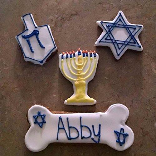 Personalized Hanukkah Dog Treats