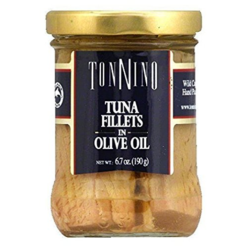 Tonnino Tuna Filet,Olive Oil 6.7 Oz (Pack Of 6) (Tonnino Tuna Fillets)