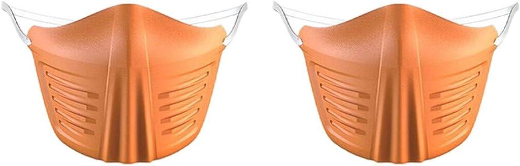 RANTA Mascara Facial desechable con Informe Barra de Nariz Adaptable Mascarilla Protectora de 3 Capas Suave y Transpirable Tejido bucal Earloop Boca Mascarilla Facial Protección
