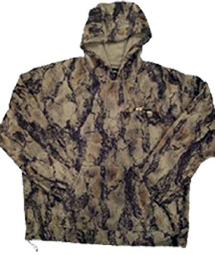 Natural Gear Camo Hoodie, Water Resistant Sweatshirt for Men and Women, Layering Fleece Camo Hoodie ()