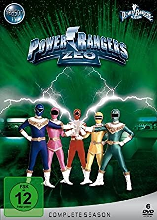 Power Rangers - ZEO: Complete Season [Italia] [DVD]