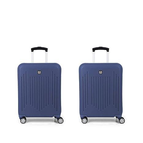Gabol - Clever | Juego de Maletas de Viaje con Cargador para ...