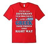 Greek Pride T Shirt Funny Grecian Flag T Shirt