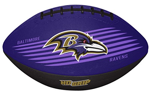 Rawlings NFL Baltimore Ravens 07731092111NFL Downfield Football (All Team Options), Purple, Youth]()