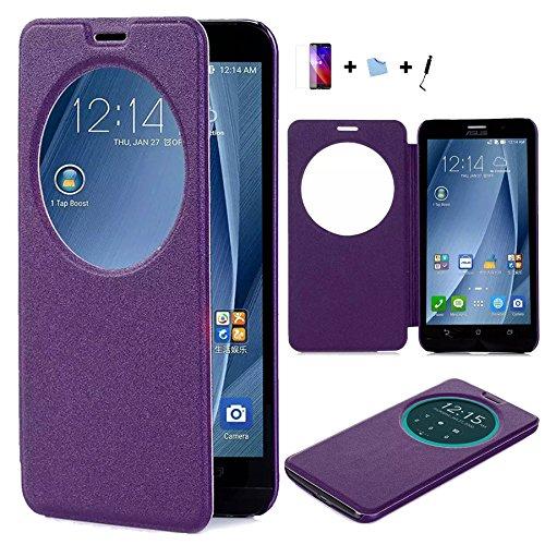 159 opinioni per Aeontop 4 en 1 Custodia Flip Cover Pelle Stand per Asus Zenfone 2 ZE551ML