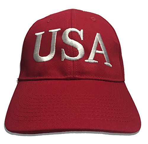 Trump New '45' Presidential Hat Inauguration Red BUY AMERICAN Cap Embroidery Made in USA
