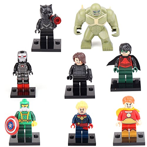 [gonggamtop Hyperion Robin Abomination Soldier Superhero 8 Minifigures Building Bricks] (Comic Book Couples Costumes)