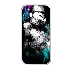 Black mysterious man Cell Phone Case for HTC One M8