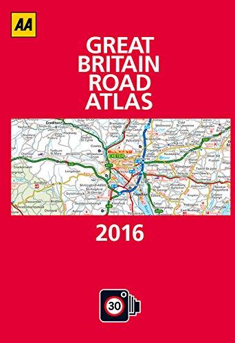 Read Online Great Britain Road Atlas 2016 pdf epub