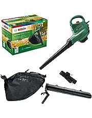 Bosch elektrische bladruimer UniversalGardenTidy 2300 (2300 W, opvangzak 45 l, variabel toerental, voor het blazen, zuigen en hakselen van bladeren, in kartonnen doos)