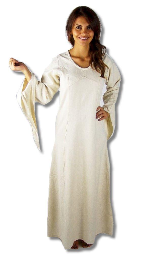 Leonardo Carbone Mittelalter Marktkleid - Damen Mittelalterkleid Mariana XXL natur B00FAPOYMK Kostüme für Erwachsene Schönes Aussehen       Deutschland Outlet