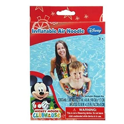 Amazon.com: Mickey Mouse piscina inflable Aire fideos para ...