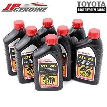 Automatic Transmission Fluid >> Genuine Toyota Atf Automatic Transmission Oil Fluid Atfws Lexus Scion X 7qt