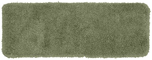 Garland Rug Serendipity Shaggy Washable Nylon Rug, 22-Inch by 60-Inch, Deep Fern (Brown Ferns Rug)