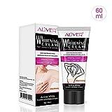 Natural Underarm Whitening Cream, FOONEE Armpit Lightening & Brightening Deodorant Cream for Body