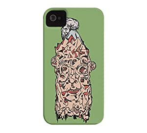 40 MONSTER iPhone 4/4s Asparagus Barely There Phone Case - Design By Humans