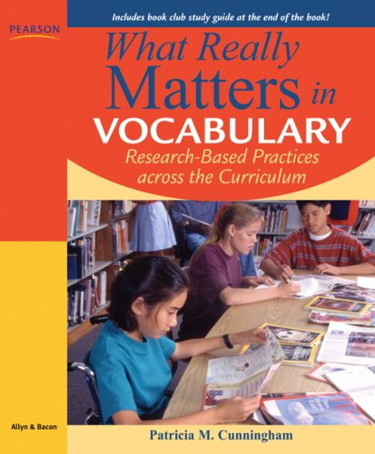 What Really Matters in Vocabulary: Research-based...