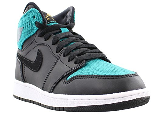 Nike 332148-011 - Zapatillas de deporte Mujer Negro (Black / Metallic Gold / Rio Teal / White)