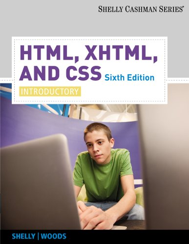 Download HTML, XHTML, and CSS: Introductory (Available Titles Skills Assessment Manager (SAM) – Office 2007) Pdf