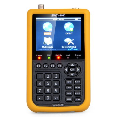 General Shop Professional Satlink Ws 6909 3.5 - Inch Satellite Signal Finder Meter