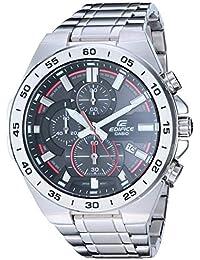 Men's 'Edifice' Quartz Stainless Steel Watch,...