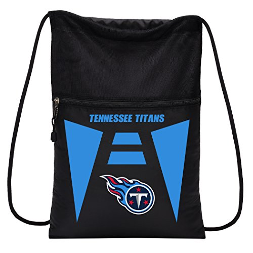 Officially Licensed NFL Tennessee Titans Team Tech Backpack Backsack, One Size