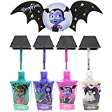 TownleyGirl Vampirina Super Sparkly Nail Polish Set for Girls, with Nail File