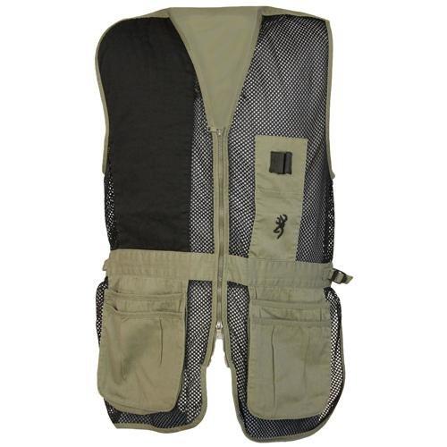 Browning, Trapper Creek Vest, X-Large, Sage/Black