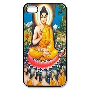 Buddha Siddhartha Gautama Shakyamuni pattern Image 4 Case Cover Hard Plastic Case tive Iphone 4s / Iphone for Iphone 4 4sprotec