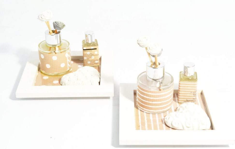 1 cm,claraluna Nuova Collezione 2019,bomboniera per Matrimonio 19502,Larghezza ILAB Set 2 diffusori bomboniere claraluna per Matrimonio cod 14 cm,Altezza 14 cm,profondit/à