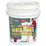 AMES RESEARCH LABORATORIES BWRF5 Water Base High Strength Elastomeric Liquid Rubber, 5 gallon White