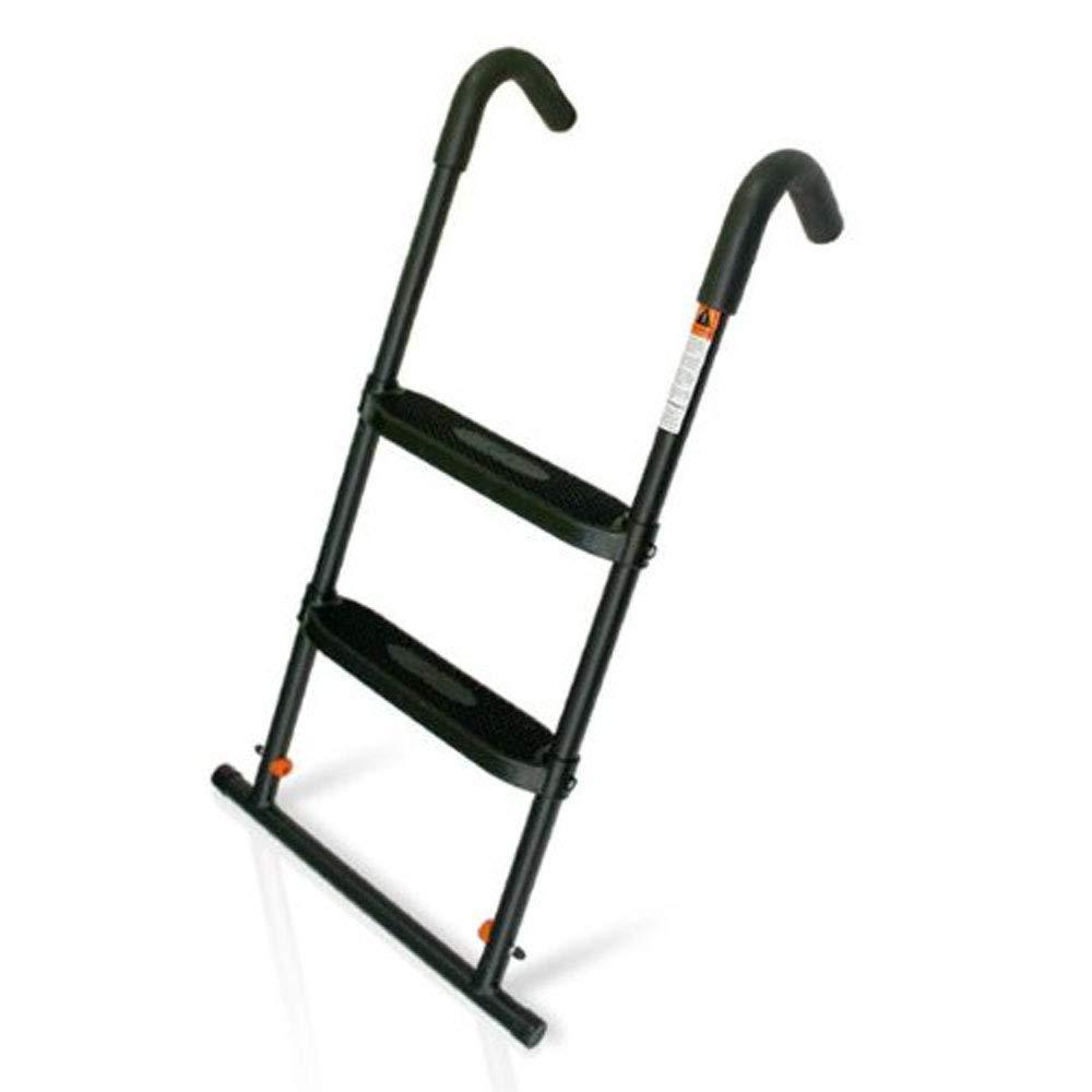 JumpSport SureStep Trampoline Ladder | Powder Coated & UV Treated for Lasting Weather Protection | Sturdy Design, Large, Flat Platform Steps