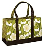 October Hill Livin' Large Oh! City Tote Shopping Bag, Leaf Print, Extra Large 11-Inch by 17-Inch