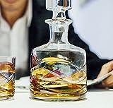 ANTONI BARCELONA Whiskey Decanter 32oz - Unique Liquor Decanter, Rum, Tequila, Bourbon, Scotch & Mouthwash - Unique Gifts Set For Men, Women, Dad, Him, Groom