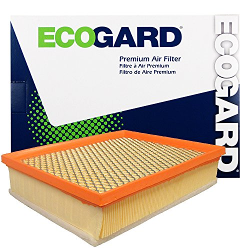 ECOGARD XA6272 Premium Engine Air Filter Fits Ford Fusion, Edge / Lincoln MKZ, MKX, Continental