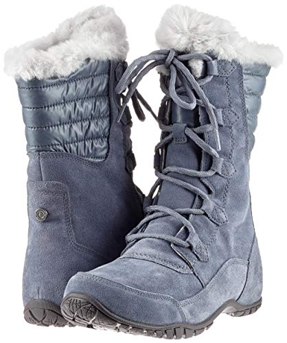Neige The De tint 5rj Nuptse Femme Grey Bottes Purna Face Ii grisaille North Gris Grey wTCqBF
