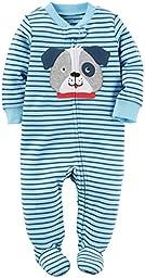 Carter\'s Baby Boys Interlock 115g225, Blue, 6M