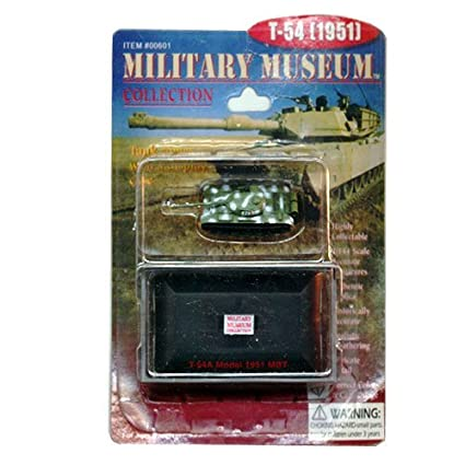 Amazon.com: Military Museum Collection T-54 (1951) #00601 ...