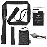 UpCircleSeven PRO Flexibility Trainer & Stunt Strap Dance Stretcher for Ballet/Dance/Gymnastics/Cheer - Premium Stretching Equipment for Flexibility Training