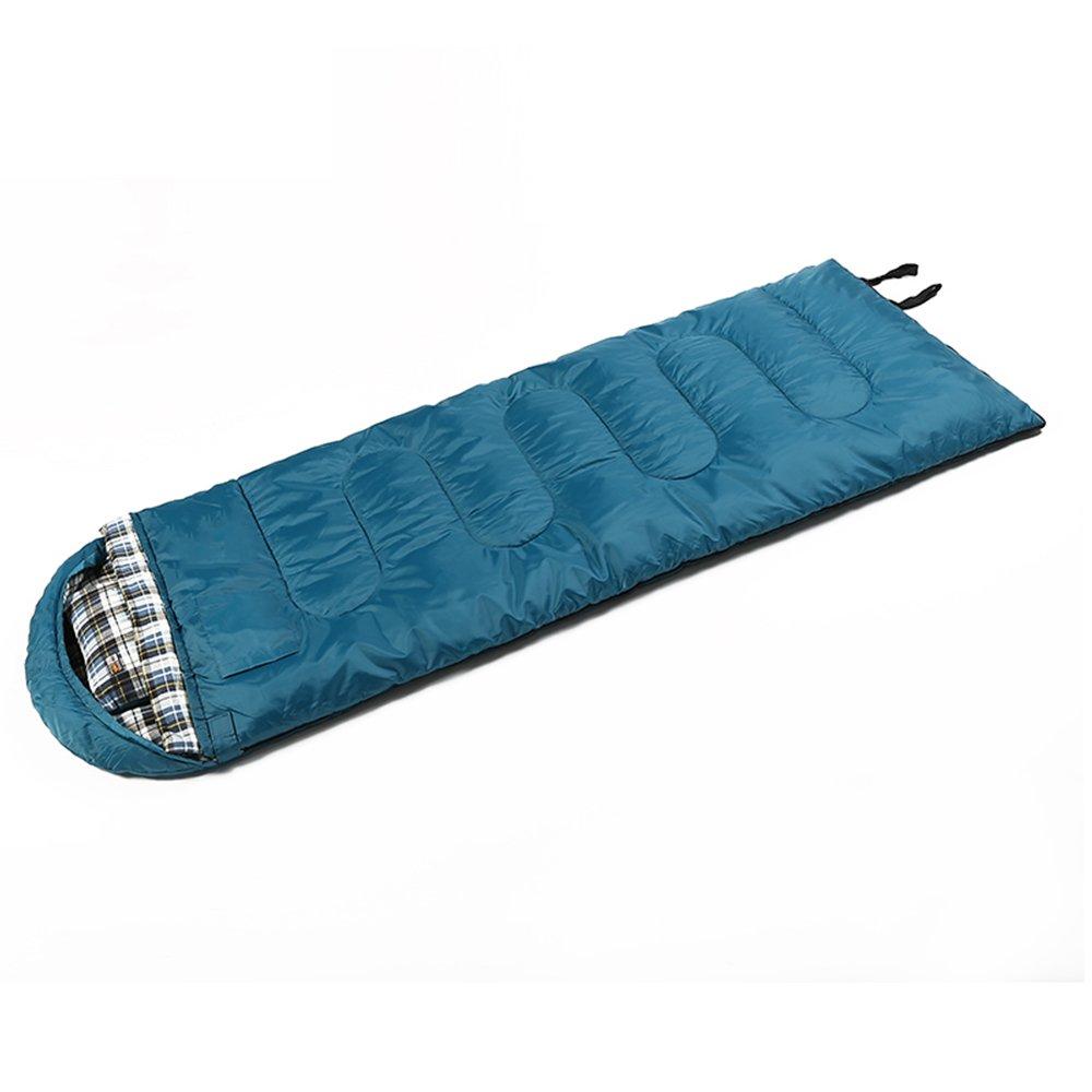 ZXQZ Bolsa de Dormir para Adultos Productos Al Aire Libre de Viaje Que Acampa Caliente Saco de Dormir Portátil Bolsa de Dormir Anti-frío Portátil Saco de ...