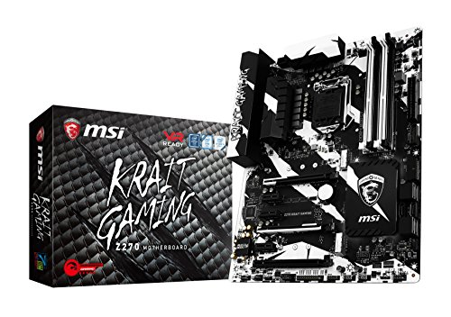 MSI Performance Gaming Intel Z270 DDR4 HDMI USB 3 SLI ATX Motherboard...