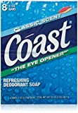 Coast 8-Bar Soap Classic Scent / Original 4 Ounce