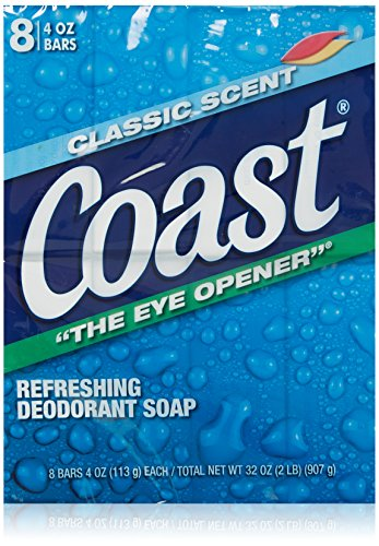Coast 8-Bar Soap Classic Scent / Original 4 Ounce by Coast